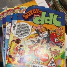 Livros de Banda Desenhada: SÚPER DDT - LOTE DE 9 NÚMEROS DE 127 COMPLETA - BRUGUERA. Lote 217746096