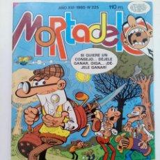 Tebeos: MORTADELO - AÑO XVI 1985 Nº225 (NUEVO DE DISTRIBUIDORA). Lote 217828722