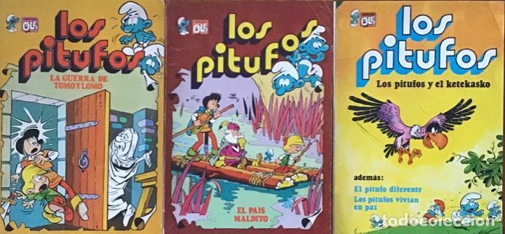 LOTE CÓMIC LOS PITUFOS (Tebeos y Comics - Bruguera - Ole)