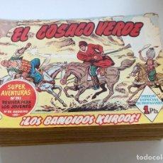 Tebeos: EL COSACO VERDE, BRUGUERA, 1960 COMPLETA Y SUELTA: 144 NÚMEROS. EXCELENTE ESTADO. Lote 217876060