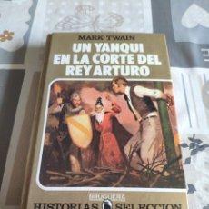 Tebeos: COLECCIÓN HISTORIAS SELECCIÓN N° 8: UN YANQUI EN LA CORTE DEL REY ARTURO (MARK TWAIN) (BRUGUERA). Lote 217889128