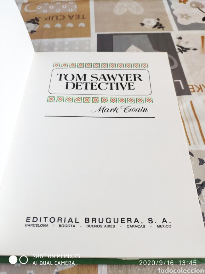 Tebeos: COLECCIÓN HISTORIAS COLOR S. CLASICOS JUVENILES N° 3: TOM SAWYER DETECTIVE (MARK TWAIN) (BRUGUERA) - Foto 2 - 217906525