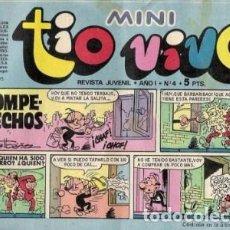 Tebeos: MINI TÍO VIVO- Nº 4 -CLÁSICOS DE BRUGUERA-SANCHIS.SCHMIDT-ESCOBAR-IBAÑEZ-1975-BUENO-DIFÍCIL-3725. Lote 218005306