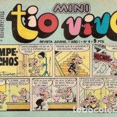 Tebeos: MINI TÍO VIVO- Nº 6 -CLÁSICOS DE BRUGUERA-SANCHIS.SCHMIDT-ESCOBAR-IBAÑEZ-1975-BUENO-DIFÍCIL-LEA-3726. Lote 218006433