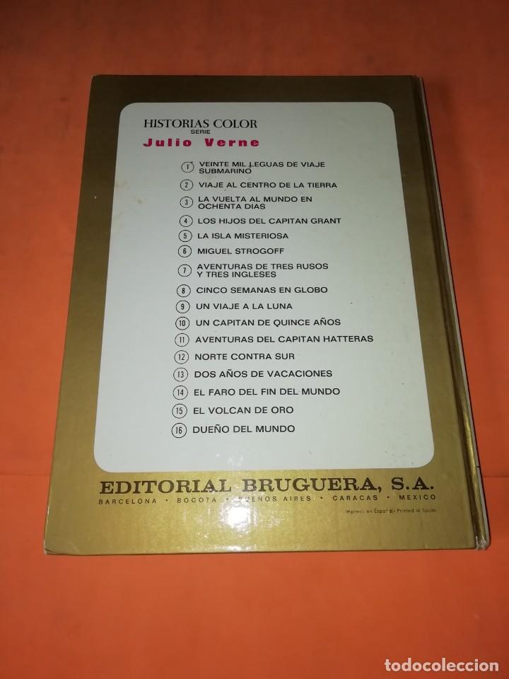 Tebeos: AVENTURAS DEL CAPITAN HATTERAS. COLECCION HISTORIAS COLOR. Nº 11. 2ª EDICION 1978 - Foto 2 - 218017420
