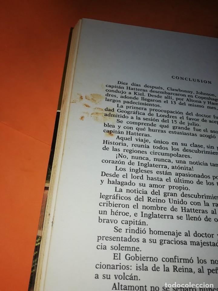 Tebeos: AVENTURAS DEL CAPITAN HATTERAS. COLECCION HISTORIAS COLOR. Nº 11. 2ª EDICION 1978 - Foto 4 - 218017420