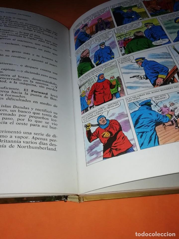 Tebeos: AVENTURAS DEL CAPITAN HATTERAS. COLECCION HISTORIAS COLOR. Nº 11. 2ª EDICION 1978 - Foto 5 - 218017420