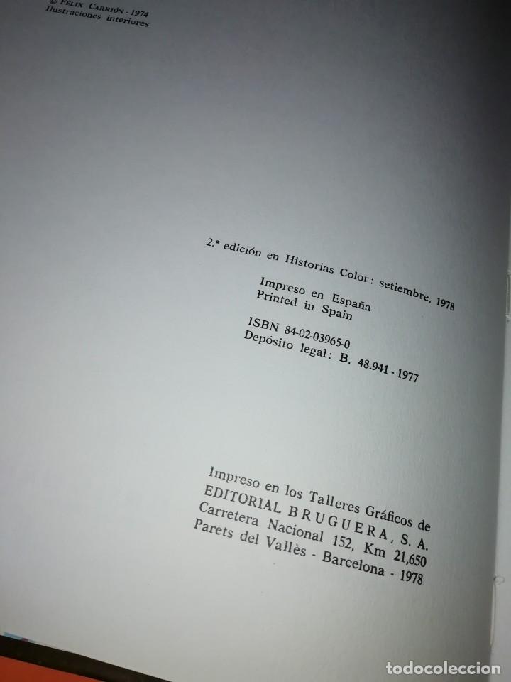 Tebeos: AVENTURAS DEL CAPITAN HATTERAS. COLECCION HISTORIAS COLOR. Nº 11. 2ª EDICION 1978 - Foto 6 - 218017420