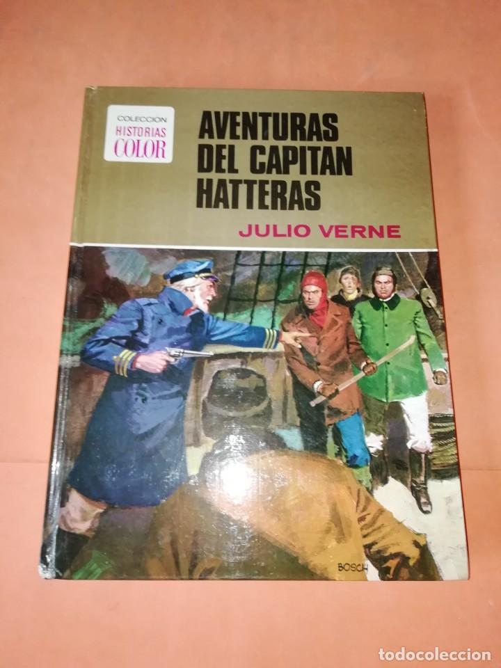 AVENTURAS DEL CAPITAN HATTERAS. COLECCION HISTORIAS COLOR. Nº 11. 2ª EDICION 1978 (Tebeos y Comics - Bruguera - Historias Selección)