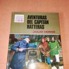 Tebeos: AVENTURAS DEL CAPITAN HATTERAS. COLECCION HISTORIAS COLOR. Nº 11. 2ª EDICION 1978. Lote 218017420