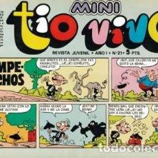 Tebeos: MINI TÍO VIVO- Nº 21 -IBÁÑEZ-RAF-GALILEO(RAFA RAMOS)-NENÉ ESTIVILL-1975-BUENO-DIFÍCIL-LEA-3728. Lote 218035228
