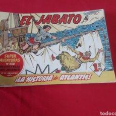 Tebeos: LOTE DE 19 TEBEOS DE EL JABATO. EDITORIAL BRUGUERA 1959 Y 1960. Lote 218035288