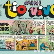 Tebeos: MINI TÍO VIVO- Nº 22 -IBÁÑEZ-RAF-GALILEO(RAFA RAMOS)-ESCOBAR-1975-BUENO-DIFÍCIL-LEA-3729. Lote 218036023