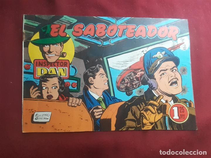 INSPECTOR DAN. EL SABOTEADOR (Tebeos y Comics - Bruguera - Inspector Dan)