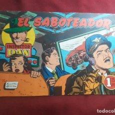 Tebeos: INSPECTOR DAN. EL SABOTEADOR. Lote 218038412