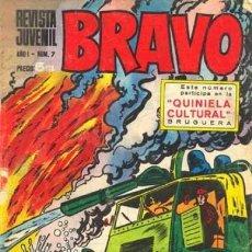 Tebeos: BRAVO-REVISTA JUVENIL- Nº 7 -BLUEBERRY-MICHEL TANGUY-AQUILES TALÓN-1968-BUENO-ESCASO-LEA-3747. Lote 218152308