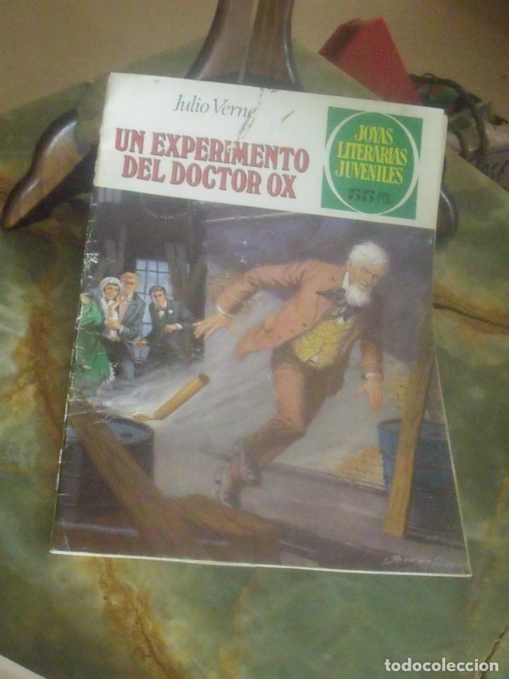 JOYAS LITERARIAS JUVENILES Nº 238 UN EXPERIMENTO DEL DOCTOR OX (Tebeos y Comics - Bruguera - Joyas Literarias)