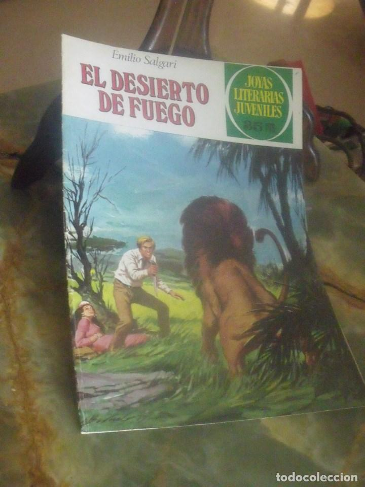 JOYAS LITERARIAS JUVENILES Nº 223 EL DESIERTO DE FUEGO (Tebeos y Comics - Bruguera - Joyas Literarias)