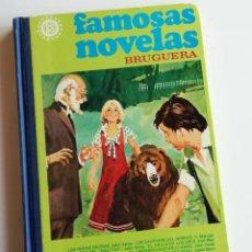 Tebeos: FAMOSAS NOVELAS BRUGUERA, VOLUMEN XI, CON ADAPTACIONES DE OBRAS DE JULIO VERNE, SALGARI, KARL MAY.... Lote 218179221