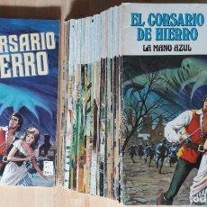 Tebeos: CORSARIO DE HIERRO (SERIE ROJA, COMPLETA CON SUS VARIANTES) 63 EJEMPLARES (1977-1981). Lote 218125695
