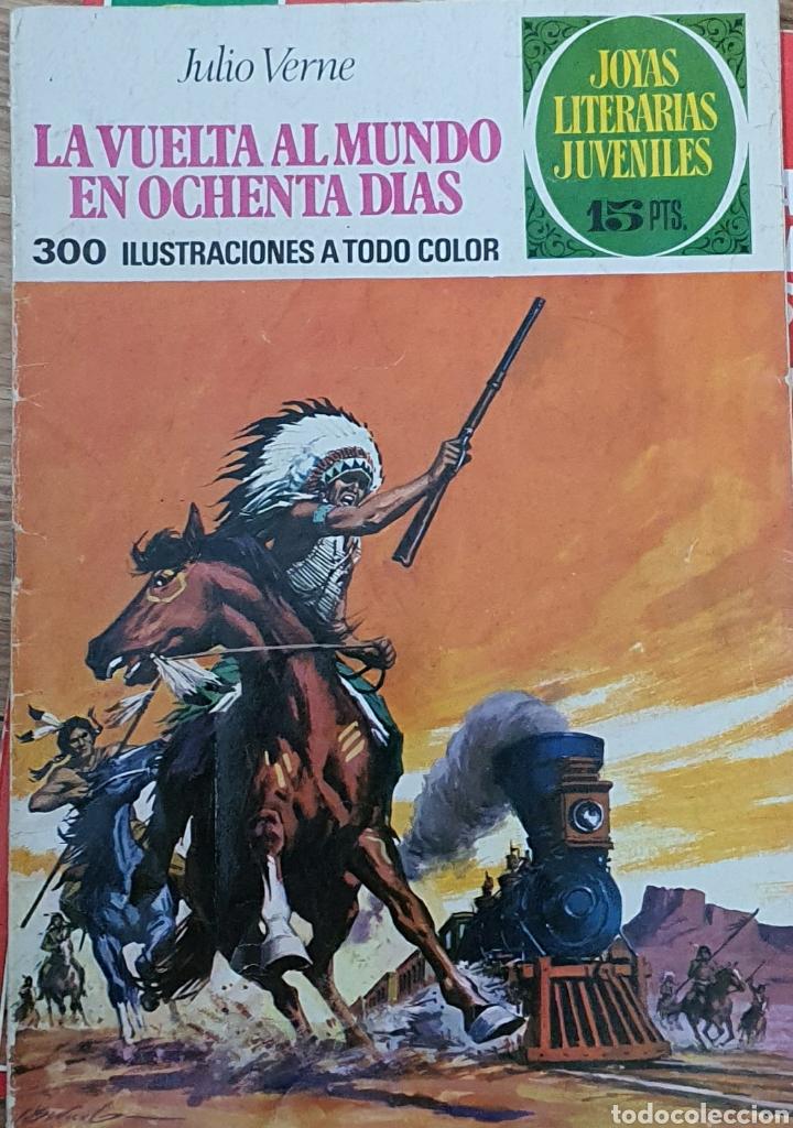 17 LA VUELTA AL MUNDO EN 80 DIAS (Tebeos y Comics - Bruguera - Joyas Literarias)