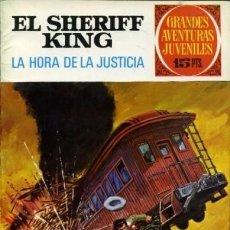 Tebeos: SHERIFF KING-GRANDES AVENTURAS JUVENILES- Nº 23 -LA HORA DE LA JUSTICIA-1972-ÚNICO EN TC-LEAN-3751. Lote 218208822