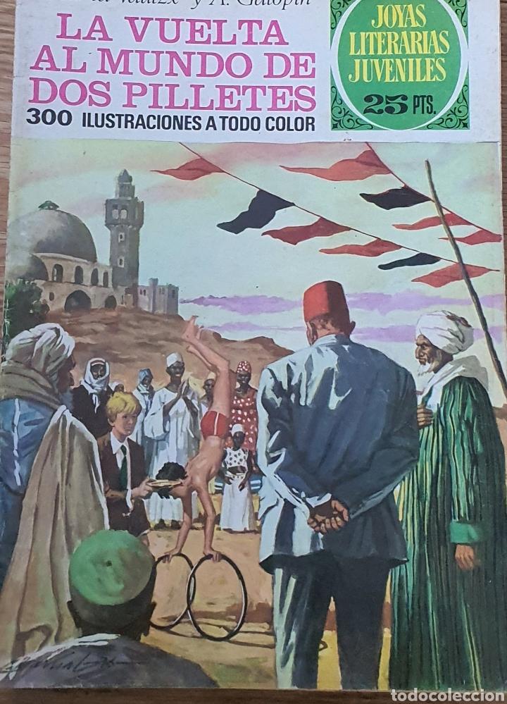 164 LA VUELTA AL MUNDO DE DOS PILLETES (Tebeos y Comics - Bruguera - Joyas Literarias)