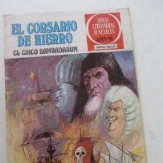 BDs: JOYAS LITERARIAS EL CORSARIO DE HIERRO Nº 11 BRUGUERA MUCHOS MAS EN VENTA C12 HJJ. Lote 218236771