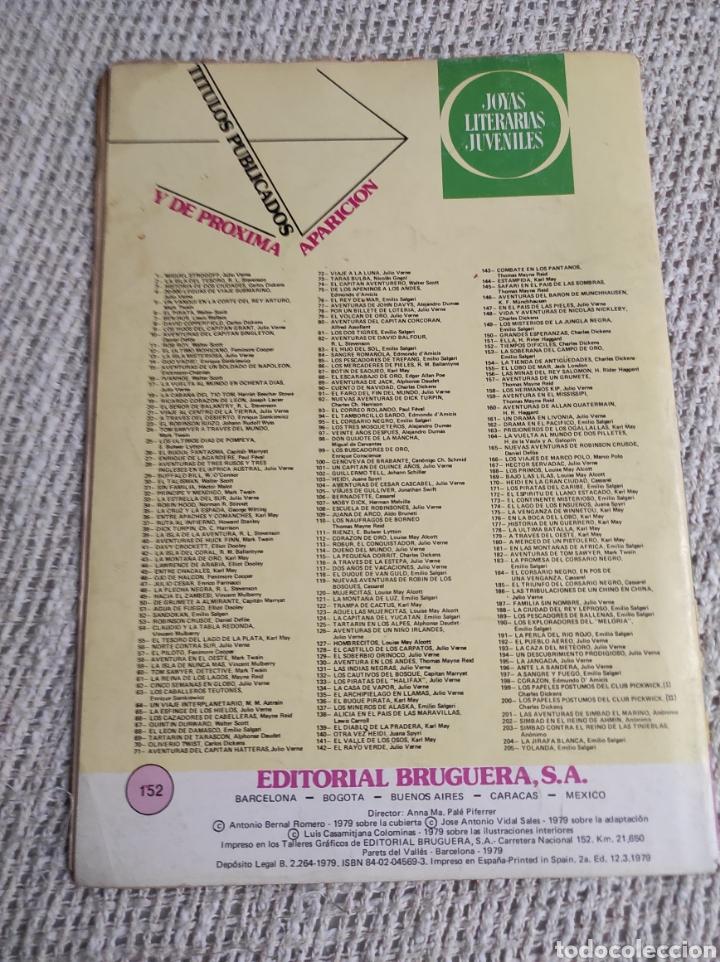 Tebeos: JOYAS LITERARIAS JUVENILES Nº 152 TIEMPOS DIFICILES -EDITA : BRUGUERA - Foto 2 - 218237235