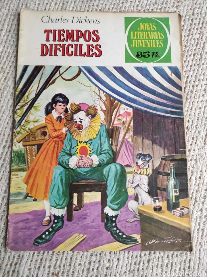 JOYAS LITERARIAS JUVENILES Nº 152 TIEMPOS DIFICILES -EDITA : BRUGUERA (Tebeos y Comics - Bruguera - Joyas Literarias)
