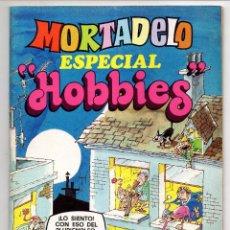 Tebeos: MORTADELO ESPECIAL HOBBIES Nº 52 (BRUGUERA 1978) CON RIC HOCHET Y AVENTURA DE CARRILLO.. Lote 218260017