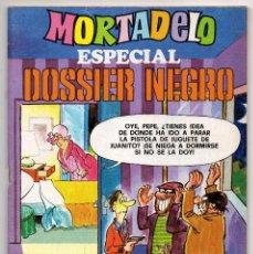 Tebeos: MORTADELO ESPECIAL DOSSIER NEGRO Nº 45 (BRUGUERA 1978) CON RIC HOCHET.. Lote 218260031