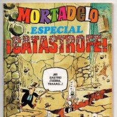 Tebeos: MORTADELO ESPECIAL CATASTROFE Nº 43 (BRUGUERA 1978) CON BERNARD PRINCE.. Lote 218260045