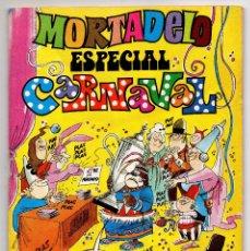 Tebeos: MORTADELO ESPECIAL CARNAVAL Nº 31 (BRUGUERA 1978) CON SECCION R.. Lote 218260062