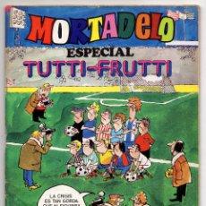 Tebeos: MORTADELO ESPECIAL TUTTI-FRUTTI Nº 24 (BRUGUERA 1977) CON CAMPEONIO.. Lote 218260107