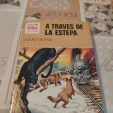 Tebeos: COLECCIÓN HISTORIAS SELECCIÓN N° 12: A TRAVÉS DE LA ESTEPA (JULIO VERNE) (BRUGUERA). Lote 218271665