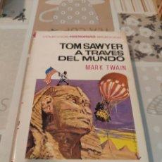 Tebeos: COLECCIÓN HISTORIAS SELECCIÓN N° 30: TOM SAWYER A TRAVES DEL MUNDO (MARK TWAIN) (BRUGUERA). Lote 218271816