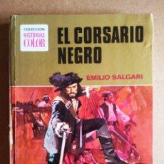 Tebeos: EL CORSARIO NEGRO, POR EMILIO SALGARI (BRUGUERA HISTORIAS COLOR N°12, 1977).. Lote 218271901