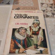 Tebeos: COLECCIÓN HISTORIAS SELECCIÓN N° 16: VIDA DE CERVANTES (E.M. FARIÑAS) (BRUGUERA). Lote 218272140