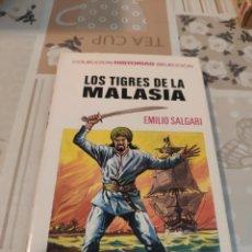 Tebeos: COLECCIÓN HISTORIAS SELECCIÓN N° 5: LOS TIGRES DE LA MALASIA (EMILIO SALGARI) (BRUGUERA). Lote 218272517