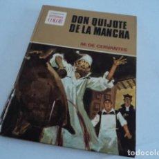Tebeos: LIBRO HISTORIAS A COLOR DON QUIJOTE DE LA MANCHA CERVANTES EDITORIAL BRUGUERA PRIMERA EDICION 1972. Lote 218314793