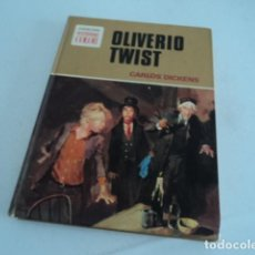 Tebeos: LIBRO ANTIGUO COLECCION BRUGUERA HISTORIAS COLOR OLIVERIO TWIST CARLOS DICKENS PRIMERA EDICION 1972. Lote 218314991