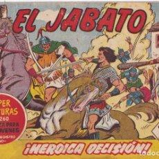 Tebeos: EL JABATO: NUMERO 73 HEROICA DECISION , EDITORIAL BRUGUERA. Lote 218398682