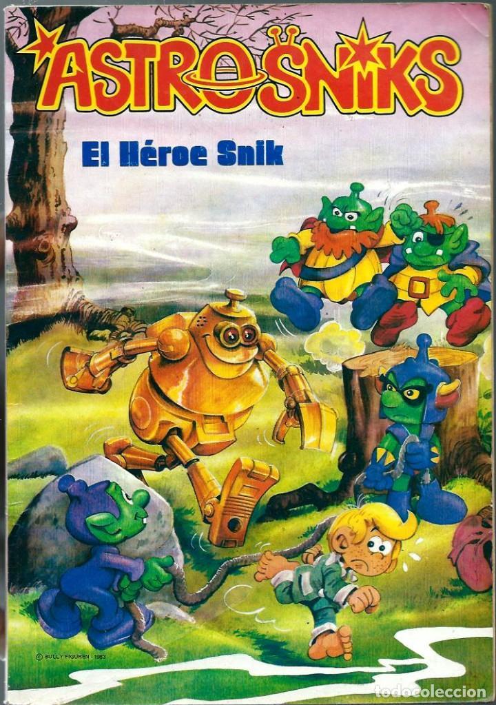 ASTROSNIKS Nº 1 - EL HEROE SNIK - BRUGUERA 1984 - COLECCION BRAVO (Tebeos y Comics - Bruguera - Bravo)