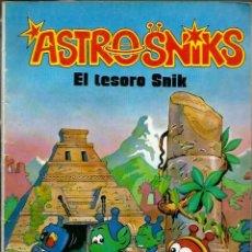 Tebeos: ASTROSNIKS Nº 4 - EL TESORO SNIK - BRUGUERA 1984 - COLECCION BRAVO. Lote 218443533