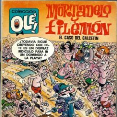 Tebeos: OLE Nº 128 - MORTADELO Y FILEMON - EL CASO DEL CALCETIN - BRUGUERA 1977 1ª PRIMERA EDICION - BIEN. Lote 218443818