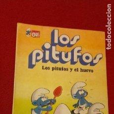 Tebeos: LOS PITUFOS 5 - LOS PITUFOS Y EL HUEVO - PEYO - RUSTICA. Lote 218449888