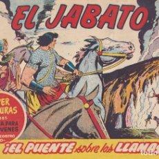 Tebeos: EL JABATO: NUMERO 151 EL PUENTE SOBRE LAS LLAMAS, EDITORIAL BRUGUERA. Lote 218460577