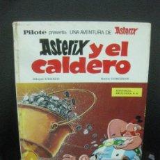 Tebeos: COLECCION PILOTE. ASTERIX.Y EL CALDERO.. EDITORIAL BRUGUERA 1969.. Lote 218565141