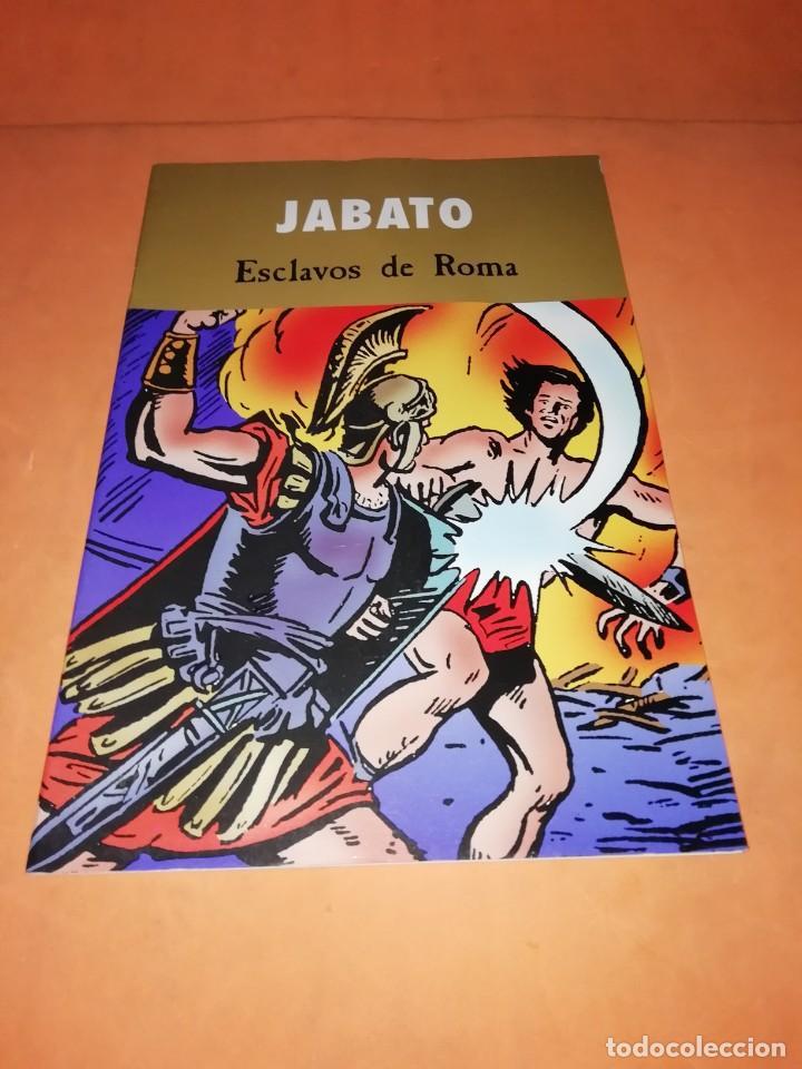 JABATO. ESCLAVOS DE ROMA. EDICIONES B 2003 (Tebeos y Comics - Bruguera - Jabato)
